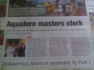 Aqualero Masters sterk tijdens ZMC