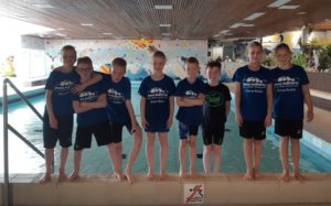 Aqualero swimkick en minioren circuit in Roden