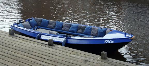 Ollie Grachtenboot Groningen
